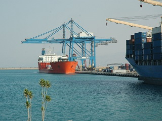Development of Sokhna Port, Egypt