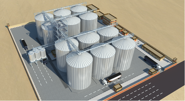Turn Key Grain Terminal Design