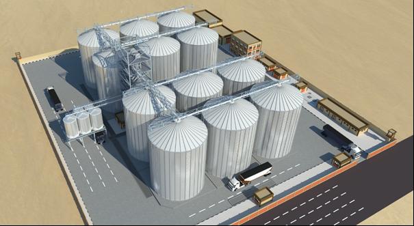 Turn Key Grain Terminal Design