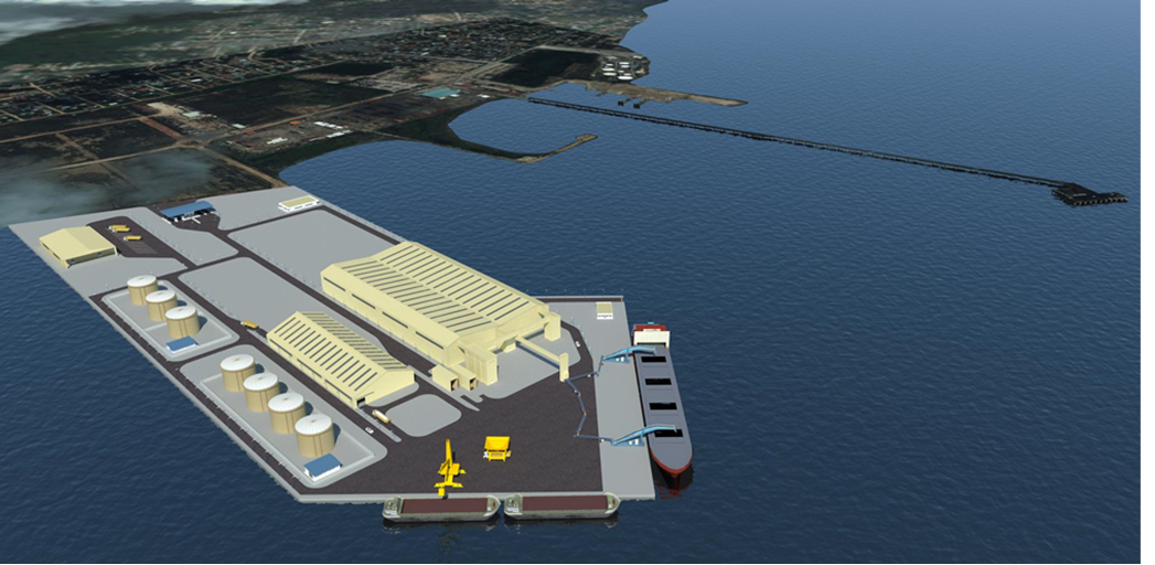 Port Masterplan Belize Logistic Terminal - Port of Belize